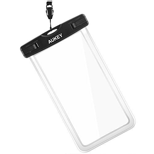 AUKEY 防水ケース スマホ用 携帯ケース 釣り iPhone 7Plus/7/6/Sonyなど対応 PC-T5の商品画像
