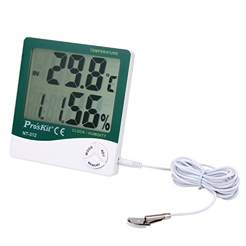Pro'sKit NT-312 Digital Temperature/Humidity Meter with Probe