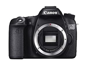Canon EOS 70D Digital SLR Camera (Body Only)