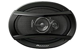 pioneer 6x9 speakers. pioneer ts-a936h 6x9 3 way coaxial car speakers (black) i