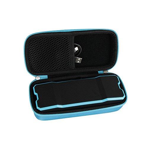 Hermitshell Hard Travel Case for Reserwa Bluetooth Speakers IPX6 Waterproof Dustproof Shockproof Superior 3D Stereo Speakers (Blue)