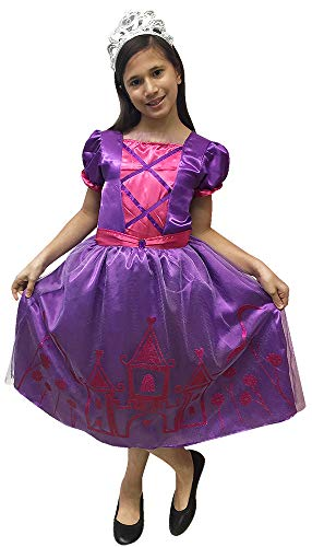 (Pastel Princess, Pink/Purple - 4/6X)