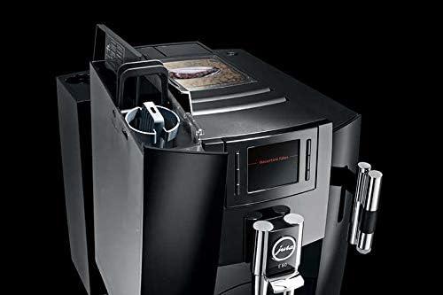 Jura - Cafetera superautomã¡tica - 15083 e80 piano black, 1450w ...