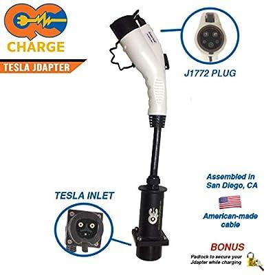 Tesla JDapter Stub 80 Amp Upgrade - Tesla Charge Station Adapter
