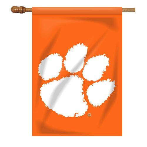 NCAA Clemson Tigers House Flag