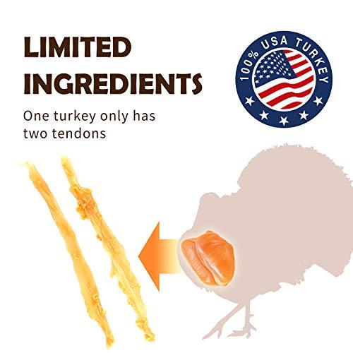 A Freschi srl Hypoallergenic Turkey Tendon Twists