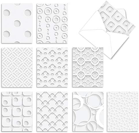 10 All-Occasion Note Cards with Envelopes 4 x...