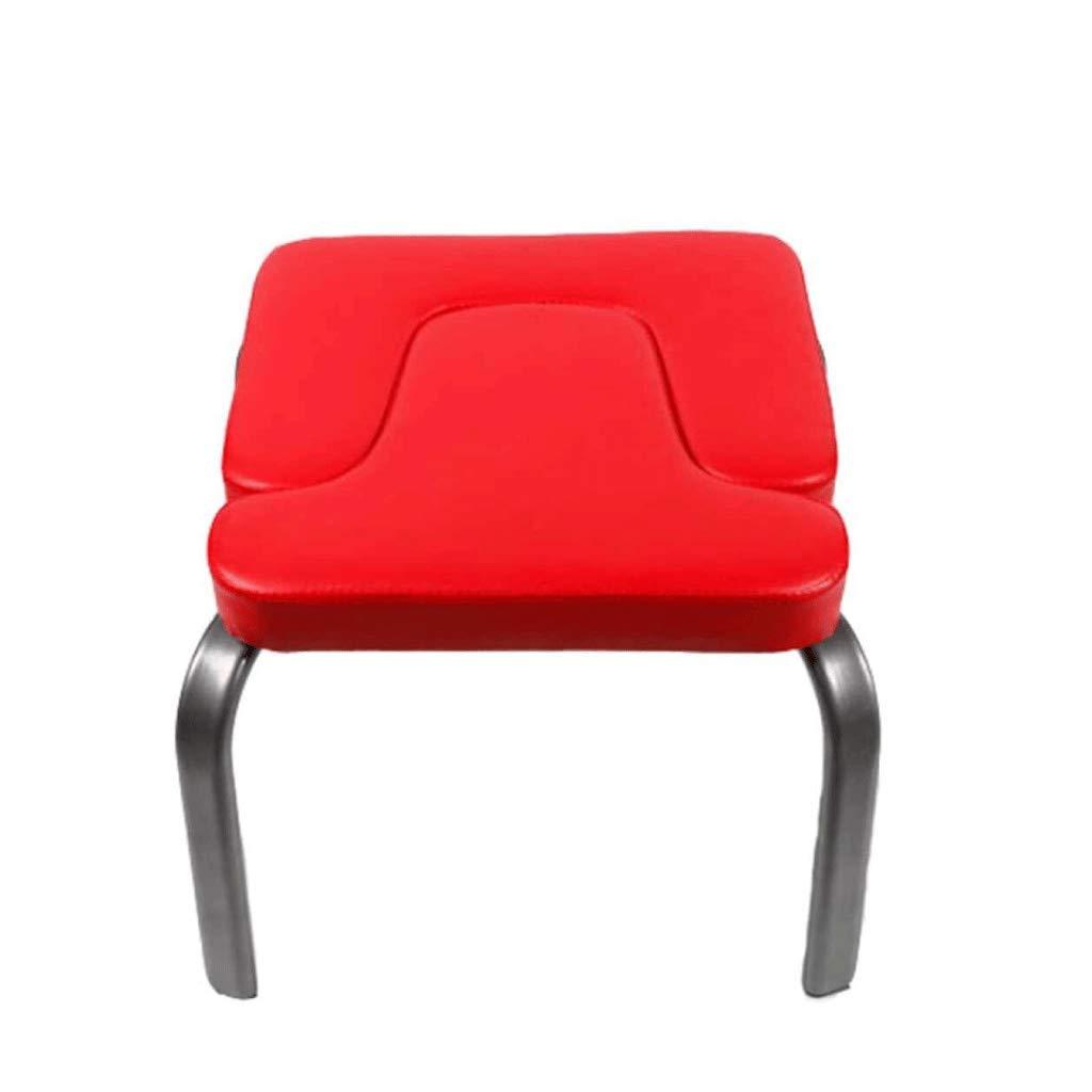 JHEY Umgekehrter Yoga-Stehhilfe-Multifunktionsstuhl Yoga-Bauchformung Sport Heim-Fitnessgeräte (rot)