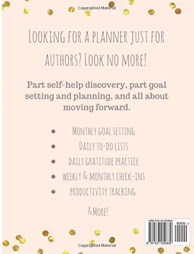 The Author Planner A Workbook To Organize Your Writing Year: A ...