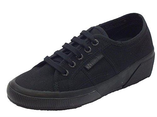 Rubber Sneaker Superga Black Ud Natural Unisex Linea Cotw Total Adulto rUnaXwUxIp