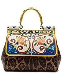 Women's BB6003AI955HW681 Multicolor Leather Handbag