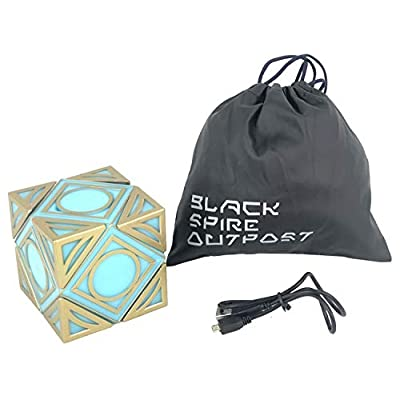 Galaxy's Edge Star Wars Electronic Jedi Holocron Cube: Toys & Games