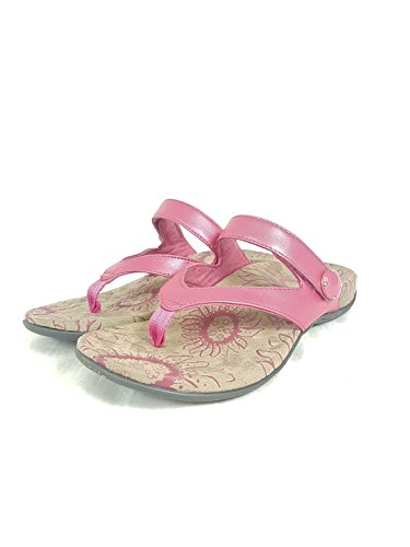 UK Sandals US with 6 Women's Rapsberry Orthaheel 8 EU Vionic Cocoa 39 awTqCY