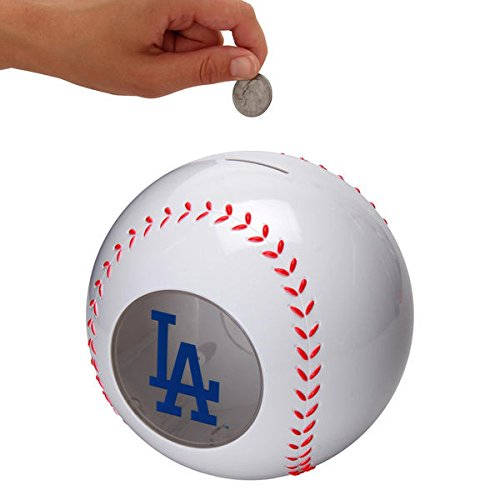 Los Angeles Dodgers Piggy Bank (Los Angeles Dodgers Clear Ball)