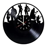 Everyday Arts The Avengers Marvel Comics Design Vinyl Record Wall Clock - Get Unique Bedroom or Garage Wall Decor - Gift Ideas for Friends, Brother - Darth Vader Unique Modern Art
