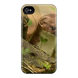 Ultra Slim Fit Hard Mialisabblake Case Cover Specially Made For Iphone 4/4s- Ferret