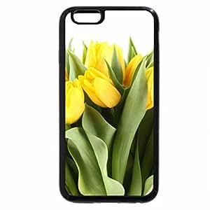 iPhone 6S Plus Case, iPhone 6 Plus Case, Yellow tulips