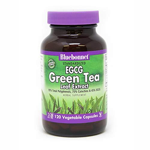 BlueBonnet EGCG Green Tea Leaf Extract Supplement, 120 Count (Egcg Green Tea Leaf)
