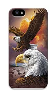 Eagle Clouds PC Case Cover for iPhone 5 and iPhone 5s 3D
