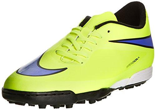 Nike Hypervenom Phade TF - Zapatillas de fútbol para hombre Amarillo (volt/persian violet-ht lv-blck 758)