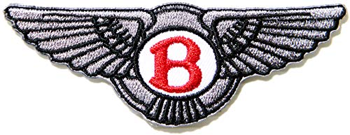 Bentley Continetal GT V8 Car Racing Patch Iron on Embroidered Applique Logo Badge Sign Symbol Embelm Craft Gift -