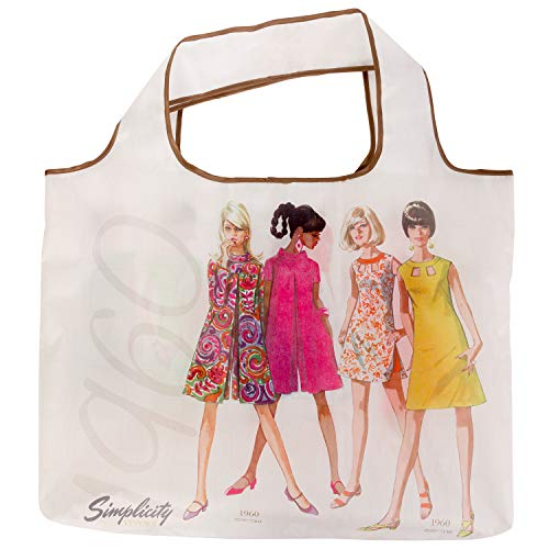 Simplicity Vintage Vintage 1960's Fashion Fold Up Shopping