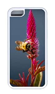 Customized Case Insect 01 TPU White for Apple iPhone 5C