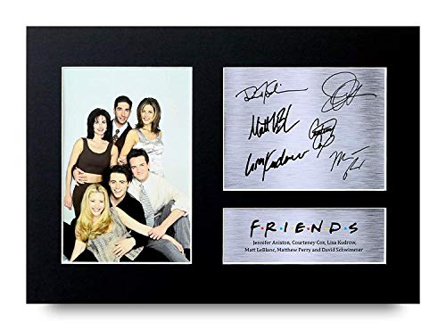 HWC Trading Joey Tribbiani Friends Gifts A4 Signed Printed Autograph Print Photo Matt LeBlanc Gift Picture Display