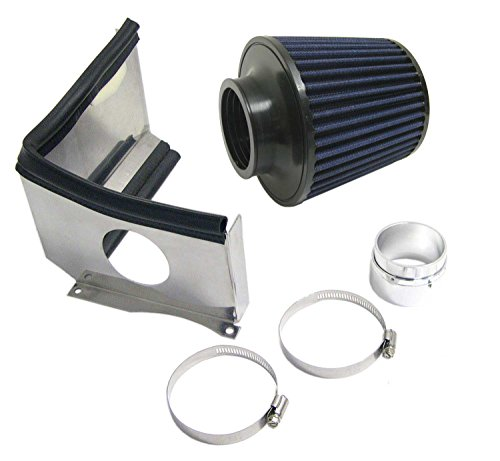 Mini Cooper S Cold Air Intake System Reusable for Hatchback (R50 & R53) & Convertible (R52) + JCW (Air Intake System Mini)