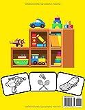 Spielzeug Malbuch: Farbe und Spaß! mit diesem