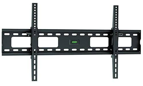 "Ultra Slim Tilt TV Wall Mount Bracket for Samsung QN82Q6 Flat 82"" QLED 4K UHD 6 Series Smart TV 2018 - Low Profile 1.7"" fom Wall, 12° Tilt Angle, Easy Install for Reduced Glare!"