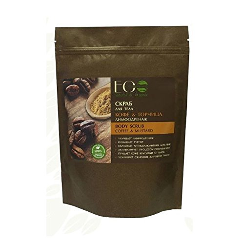 EO Laboratorie Natural Body Dry Scrub Coffee & Mustard Lymphatic Drainage 40g ()