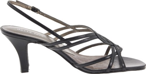 David Tate Womens Dress Sandal, Black, 13 M Us