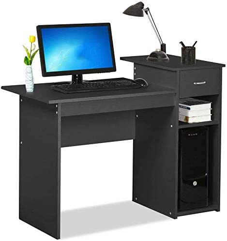 41″ Heavy Duty Modern Computer Desk Simple Design Computer Table Pc Laptop Desk Workstation Writing Desk Study Table