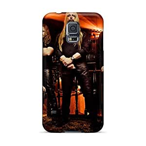 High Quality Phone Covers For Samsung Galaxy S5 With Support Your Personal Customized Trendy Mercenary Band Skin KevinCormack