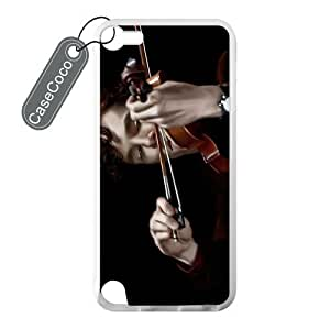 CASECOCO(TM) iPod Touch 5 Case, Favorite TV Series Sherlock Case for iPod Touch 5 - 100% Protective Soft Rubber White Case