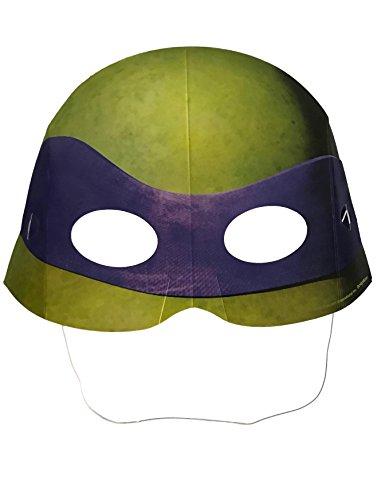 (Teenage Mutant Ninja Turtles TMNT Finished Paper Face Mask Party Favor Costume)