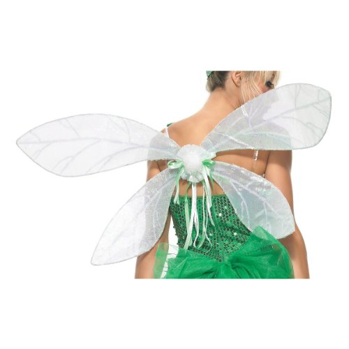 - Leg Avenue Iridescent Pixie Wings, One Size, White