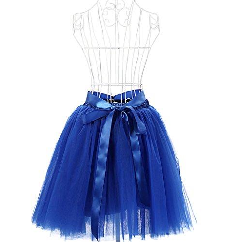 Super Modern - Vestido - trapecio - para mujer Royal(58)