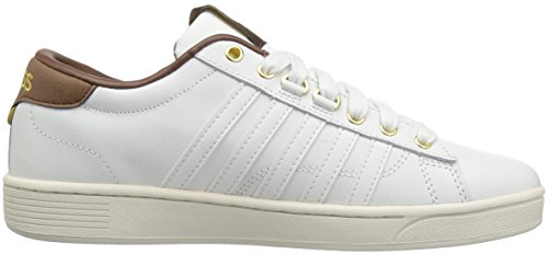 K-Swiss Herren Hoke CMF Sneaker Weiß (Classic White/Mustang)
