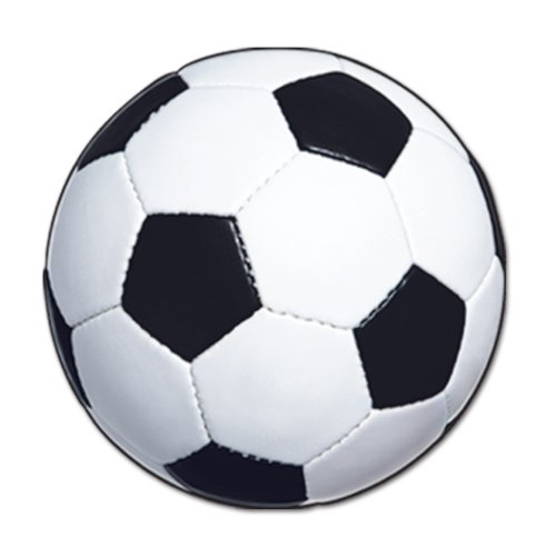 Beistle 24-Pack Soccer Ball Cutout, 13-1/2-Inch by Beistle