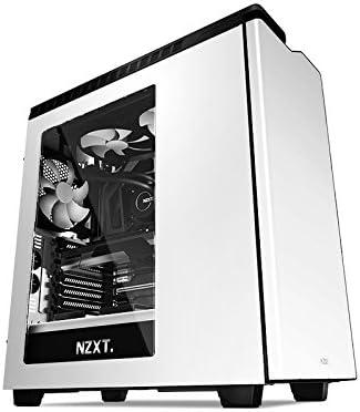 NZXT CA-H440W-W1 - Caja de Ordenador de sobremesa (3.5 mm, 2 x USB ...