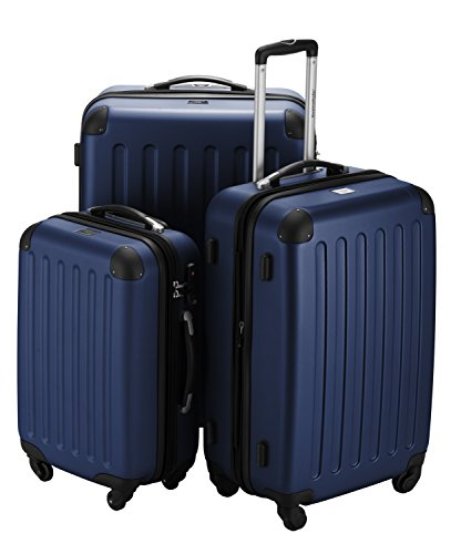 HAUPTSTADTKOFFER® Set di valigie · (49.0;82.0;128.0 liters) · TSA BLOCCO · BLU