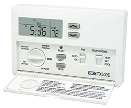 Lux Smart Temp TX500 Programmable Thermostat - Programmable ...