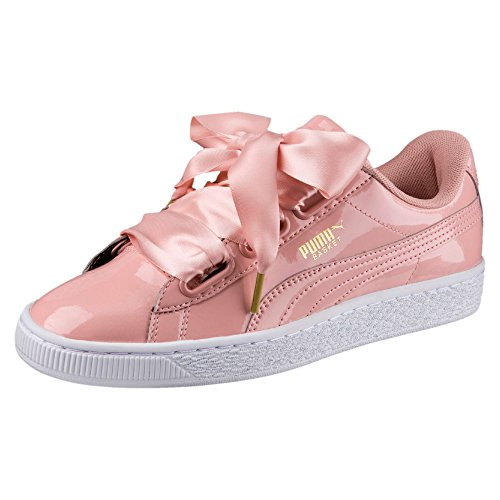 Coeur Pink Sneaker Eu Femmes 38 Puma Basket Brevet Black Pour Rose Chaussures white Et white Blanc 6Aq5xnAz