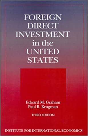 Book Foreign Direct Investment in the United States by Edward M. Graham (1995-02-01)