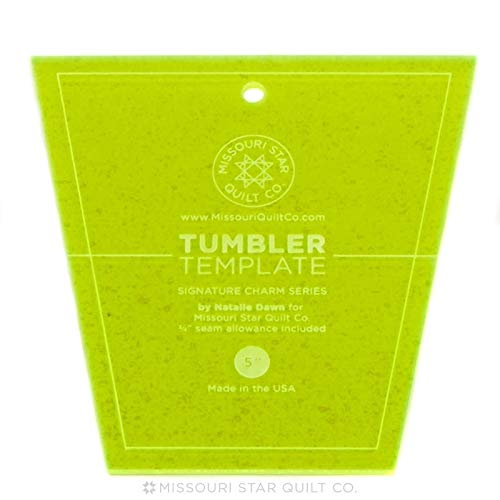 Tumbler Template~5 Tumbler~Great for Using with 5 Squares by Missouri Star