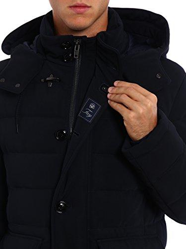 buy popular 25104 9ebcf Fay Men's Nam3635057joouu809 Blue Polyester Outerwear Jacket ...
