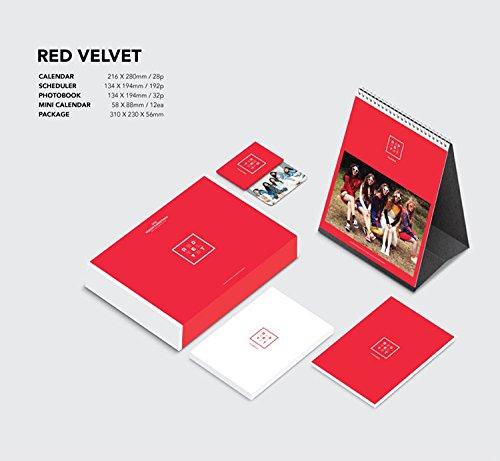 RED VELVET 2016 SEASON'S GREETINGS [28p Calendar + 192p Scheduler + 32p Photobook + Mini Calendar 12ea + Folded ()