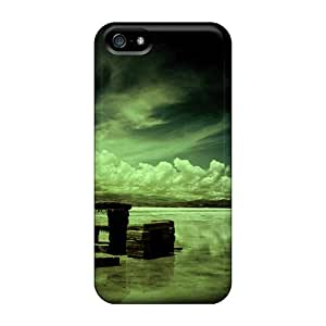 Awesome Bench On The Beach Flip Case With Fashion Design For Iphone 5/5s